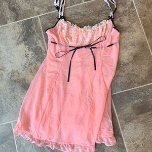 Medium Betsy Johnson peach nighty